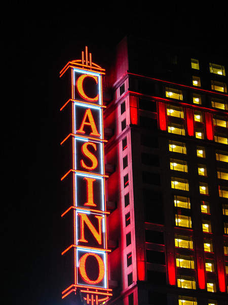 Casino at Night