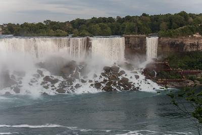 American Falls & Bridal Veil Falls