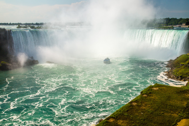 Niagara Falls - Horseshoe Fall on Canadian Side