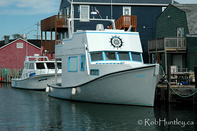 Boat. Fisherman's Cove in Eastern Passage