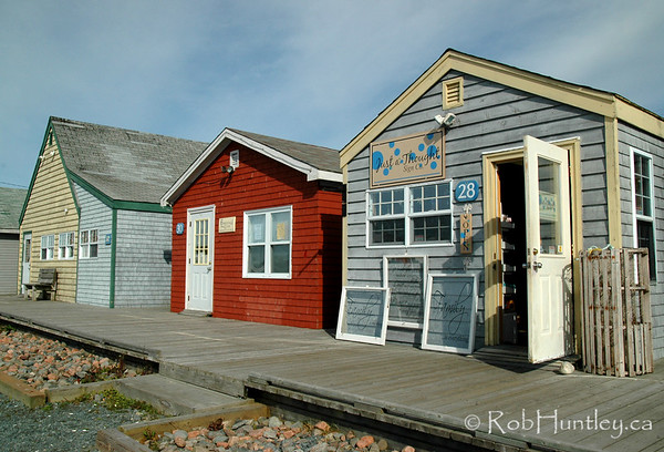 Shops at Fisherman's Cove in Eastern Passage.