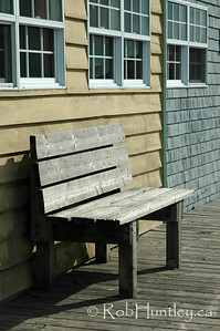 Bench. Fisherman's Cove in Eastern Passage.