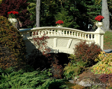Bridge at the Halifax Public Gardens.