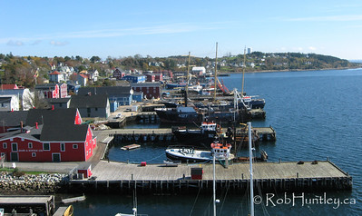 Harbour at Lunenburg, Nova Scotia, Canada.