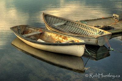Two Boats, Peggy's Cove