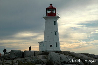 The lighthouse at Peggy's Cove, Nova Scotia, Canada. © Rob Huntley