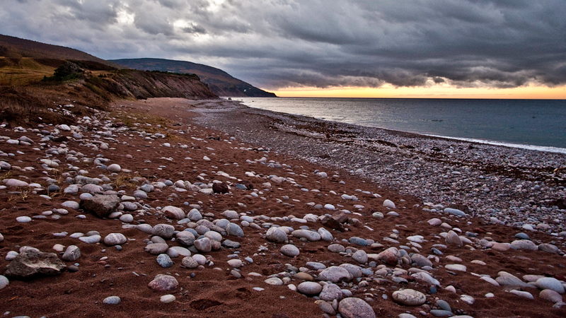 Evening at the Pleasant Bay: Cape Breton Highlands National Park, NS