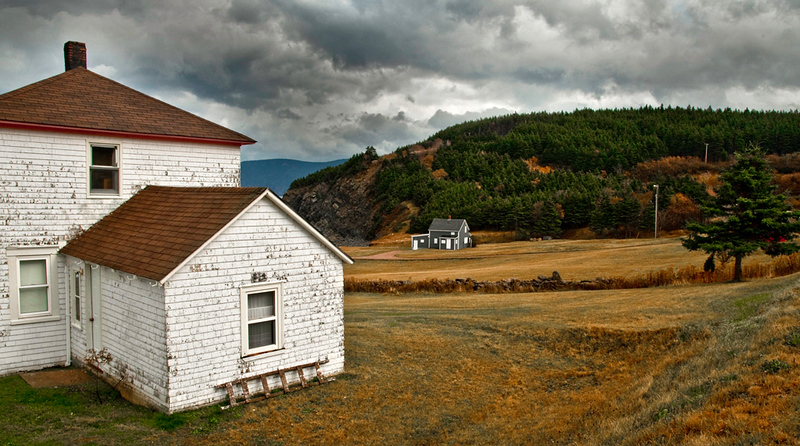 On the way to Meat Cove: Cape Breton Highlands National Park, NS