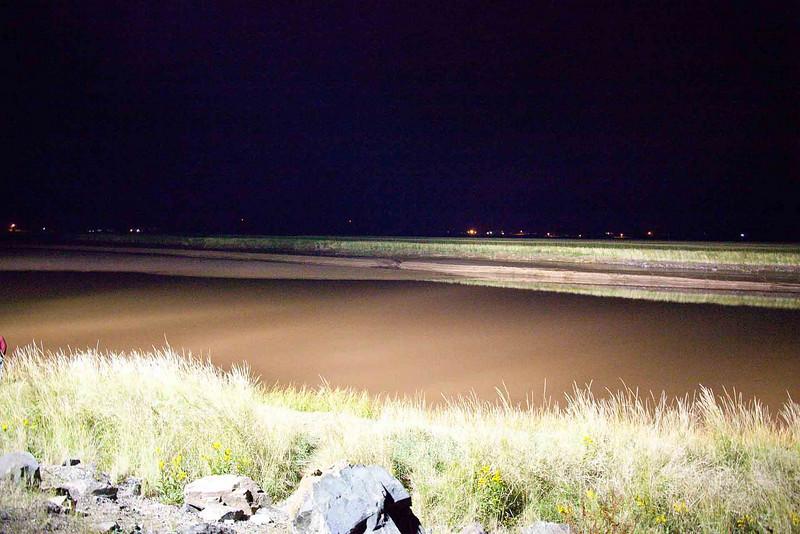 Salmon River, Truro, NS- Before the Tidal Bore