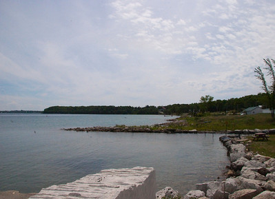 ON, Cape Croker Reserve, Colpoys Bay, Hope Bay, Spyder Bluff