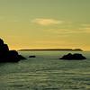 Tobermory - Glass Bottom Sunset Cruise - Georgian Bay Along Bruce Prov Park Shoreline-08262007-195309(f)
