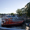 Tobermory - Glass Bottom Sunset Cruise - Georgian Bay Along Bruce Prov Park Shoreline-08262007-184935(f)