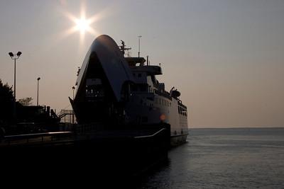 ON, Tobermory - Glass Bottom Sunset Cruise