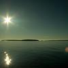 Tobermory - Glass Bottom Sunset Cruise - Georgian Bay Along Bruce Prov Park Shoreline-08262007-185338(f)