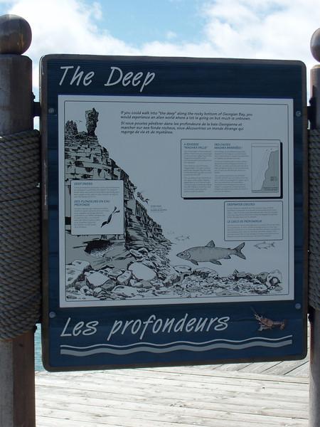 ON, Tobermory - Hiking Flowerpot Island
