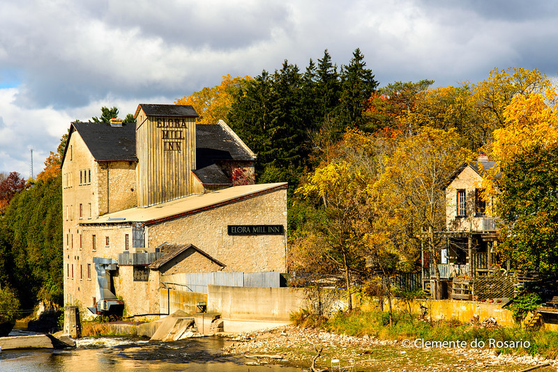 Elora Mill Inn on the Grand River, Elora, Ontario, Canada