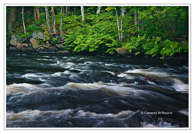 Oxtongue Rapids near Algonquin Provincial Park, Ontario Canada