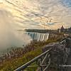 Dawn at Niagara Falls, Niagara, Ontario,Canada