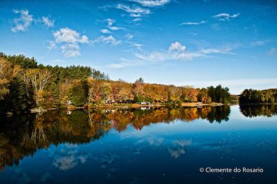 Oxtongue Lake near Algonquin Park, Ontario, Canada