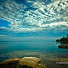 Cloudscape over Lake Ontario at Gairloch Gardens, Oakville, Ontario