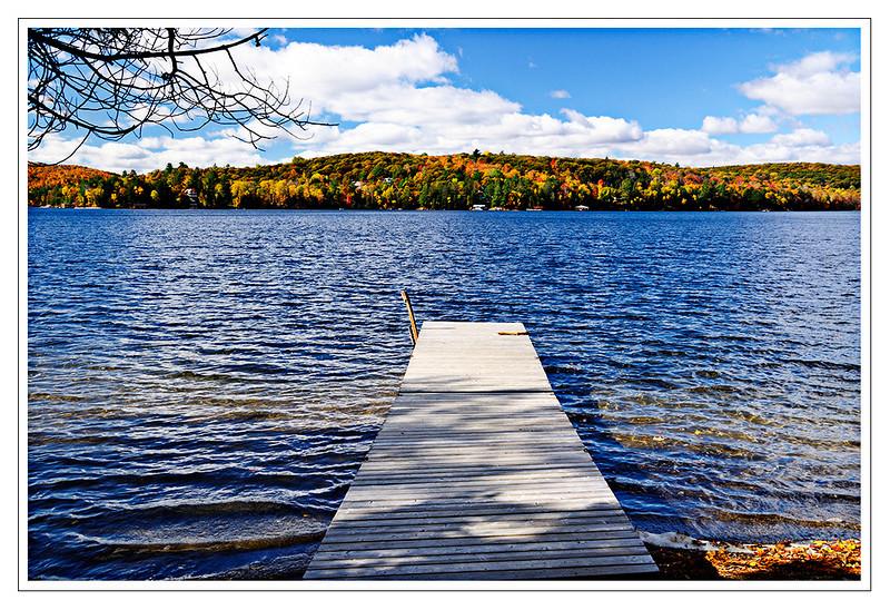 One of the many lakes in Moskoka, Ontario, Canada