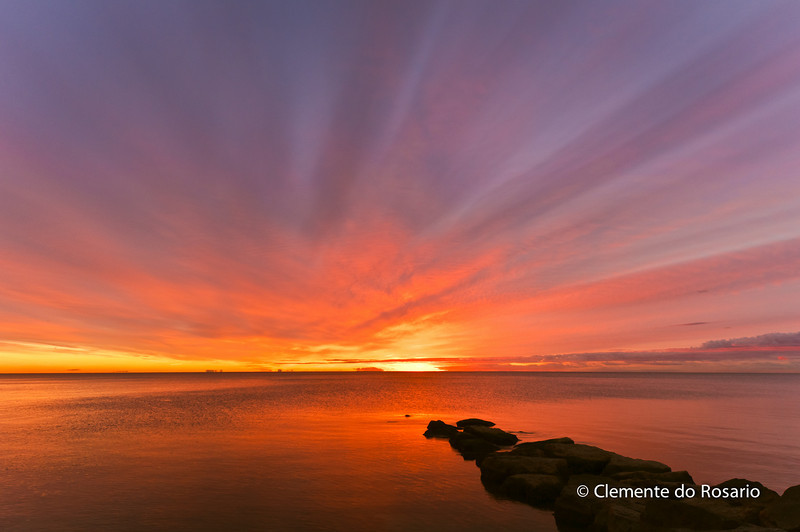 Sunrise at Lakeside Park, Oakville, Ontario