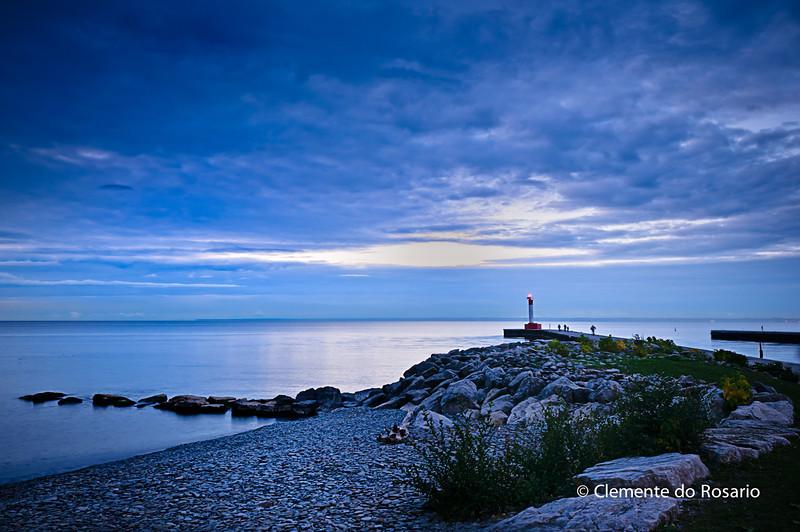 Dawn at Lakeside Park, Oakville,Ontario,Canada