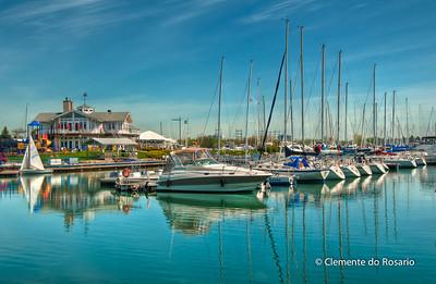 Lakefront Promenade Marina, Mississauga, Ontario