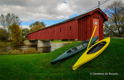 West Montrose Covered Bridge, Ontario, Canada