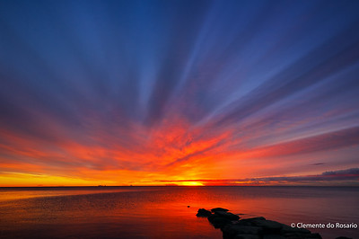 Sunrise at Lakeside Park, Oakville, Canada