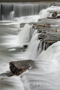 Waterfalls on the Mississippi River in Almonte, Ontario.