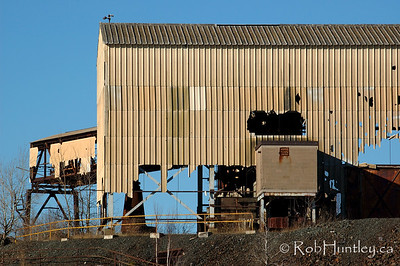 Derelict building at the Marmora Iron Mine, Marmora, Ontario.  © Rob Huntley