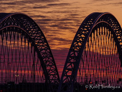 Vimy Bridge in Barrhaven.