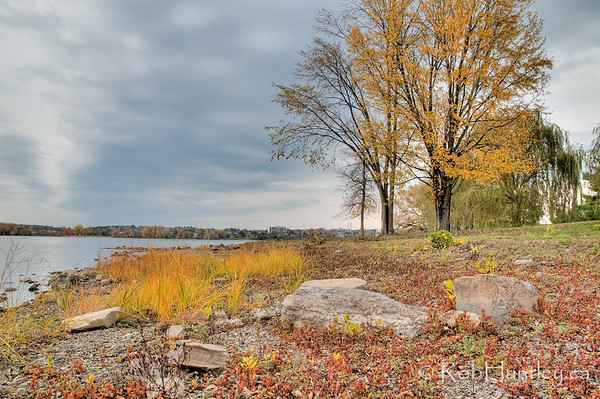 Ottawa River in the Fall
