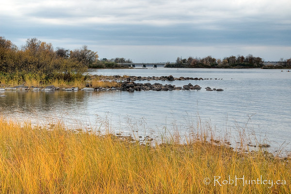 Ottawa River in the Fall - between Champlain Bridge and Remic Rapids. License this photo on Getty Images © Rob Huntley