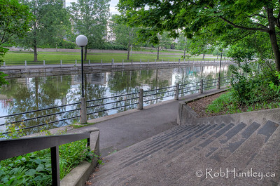 Rideau Canal near the University of Ottawa.
