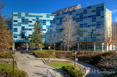 The Center for Advanced Research in Environmental Genomics, CAREG, at the University of Ottawa. © Rob Huntley