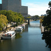 Rideau Canal in Ottawa, Ontario, Canada. © Rob Huntley