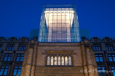Canadian Museum of Nature - exterior view in the evening. Ottawa, Ontario, Canada. © Rob Huntley