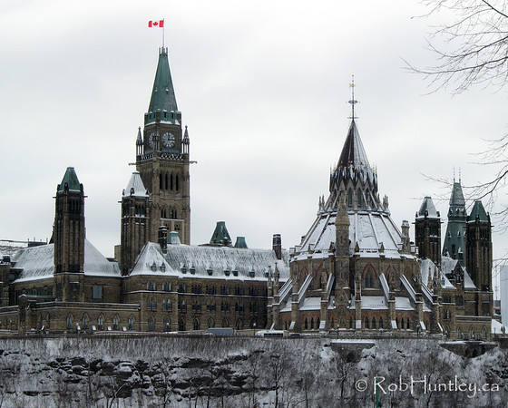 Parliament Hill in the Snow