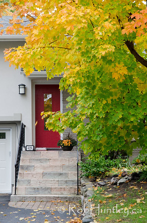 Autumn in my neighbourhood in the Highland Park area of Ottawa near Westboro.