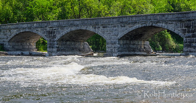3/5 of the Pakenham Five Arch Stone Bridge