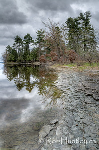 The point viewed from the river side. Pinhey's Point Heritage Property and Park. © Rob Huntley 2012