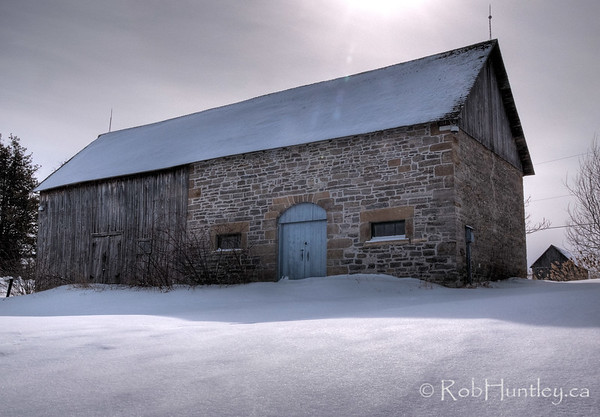 The barn. Pinhey's Point Heritage Property and Park. © Rob Huntley