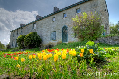 Horaceville, the heritage home in spring. Pinhey's Point Heritage Property and Park. © Rob Huntley 2012
