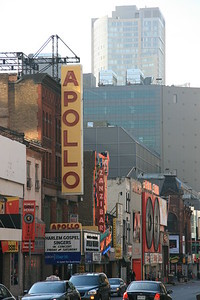 During the filming of the new Hulk movie, part of Yonge street was transformed.  There is no Apollo on Yong street.