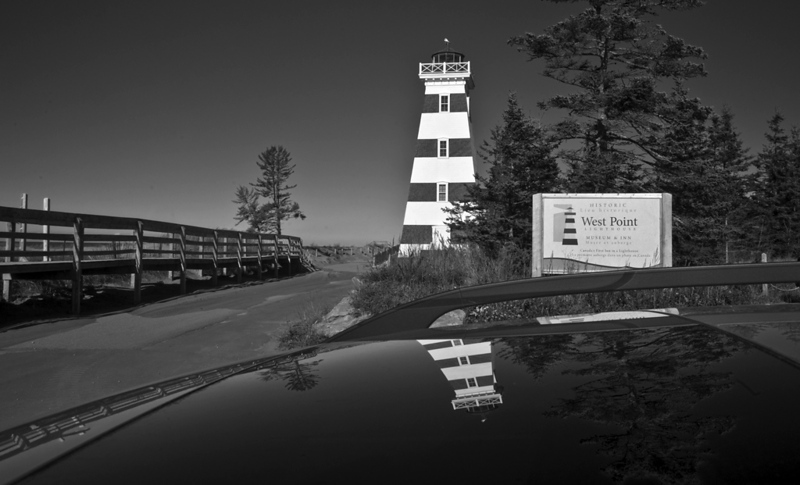 West Point Lighthouse: PEI