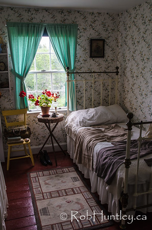 Bedroom at Green Gables