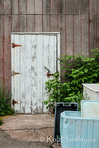 Shed Door,  French River, Prince Edward Island.