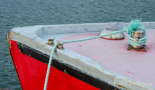 Fishing Boat Detail. French River, Prince Edward Island.